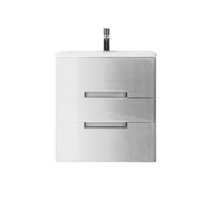 Meuble de salle de bains blanc DECOTEC Belt 60 cm