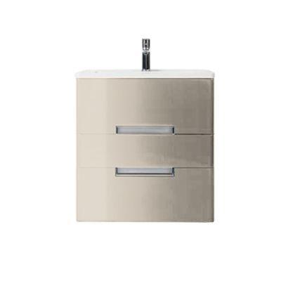 Meuble de salle de bains grège Decotec Belt 60 cm