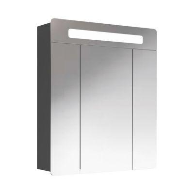 Armoire lumineuse noire Decotec Belt 60 cm
