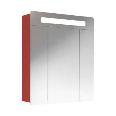 Armoire lumineuse rouge Decotec Belt 60 cm