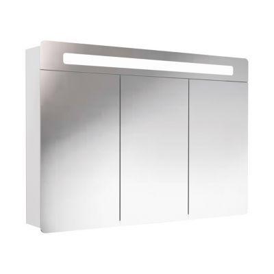 Armoire lumineuse blanche DECOTEC Belt 100 cm