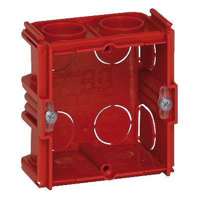 Boîte d'encastrement simple carré maçonnerie Legrand P. 40 mm | Castorama