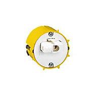 Boîte DCL luminaire applique Legrand plaque de plâtre