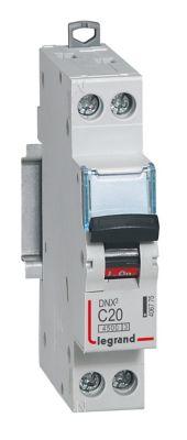 Disjoncteur Phase Neutre 20a Legrand Castorama