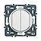 Mécanisme double poussoir LEGRAND Céliane 6A blanc