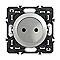 Mécanisme de prise de courant sans terre LEGRAND Céliane 16A titane