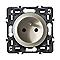 Mécanisme de prise de courant avec terre LEGRAND Céliane 16A titane