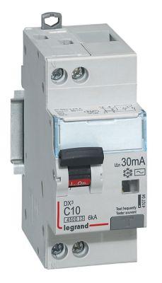Disjoncteur différentiel type AC 30mA - 10A Legrand