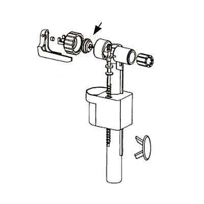 Membrane Insert Pour Robinet Flotteur 95l 95b Siamp Castorama