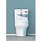 Mécanisme WC Siamp Optima 49 + robinet flotteur Siamp Quieto OD 3/8 - Bouton poussoir + étrier
