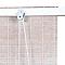Store enrouleur bois blanc Scandinave 140 x 180 cm