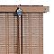 Store enrouleur tamisant bois tissé BALLAUF taupe 60 x 180 cm