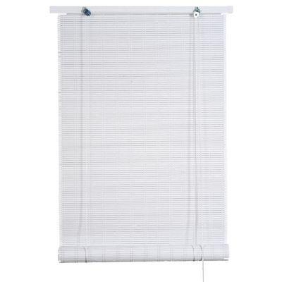 Habillez vos fenêtres avec ce joli store enrouleur bois blanc tissé 100 x 200 cm. Sa teinte et sa matière donneront du cachet à votre décoration intérieure tout en vous protégeant des regards extérieurs. A vous de choisir le degré de luminosité souhaité e