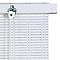 Store enrouleur tamisant bois tissé BALLAUFF blanc 100 x 200 cm