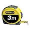 Mètre à ruban STANLEY bimatière 3 m x 12,7 mm