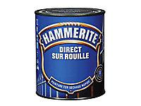 Peinture fer direct sur rouille Hammerite gris ardoise martelé 0,75L