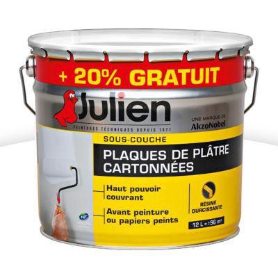 SousCouche Plaques De Pltre Julien J L   Gratuit  Castorama