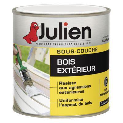 SousCouche Bois Extrieur Julien J L  Castorama