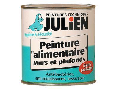 Peinture Alimentaire Murs Et Plafonds Julien Blanc L  Castorama