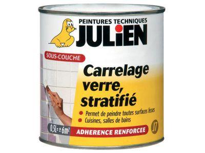 Souscouche Verre Stratifié Et Carrelage Mural JULIEN J L - Peinture sous couche carrelage
