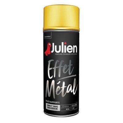 Peinture Multi Supports En Aérosol Julien Effet Métal Or 400ml Castorama