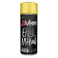 Peinture multi-supports en aérosol Julien effet métal or 400ml