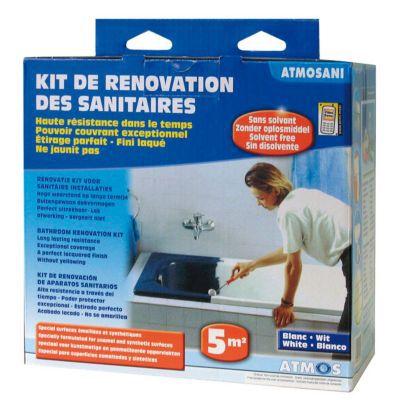Kit De Rénovation Des Sanitaires Atmosani Castorama