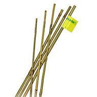 Tuteur bambou naturel Nortene ø10-12 mm h.120 cm