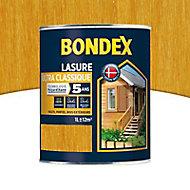 Lasure bois Bondex Chêne doré 1L - 5 ans