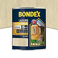Lasure bois Bondex Incolore 1L - 5 ans