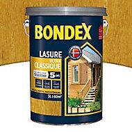 Lasure bois Bondex Chêne clair 5L - 5 ans