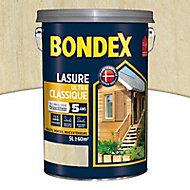 Lasure bois Bondex Incolore 5L - 5 ans