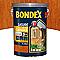 Lasure bois extérieur BONDEX garantie 5 ans teck 5L