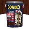 Lasure bois extérieur BONDEX garantie 8 ans chêne moyen satin 5L