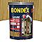 Lasure bois extérieur BONDEX garantie 8 ans chêne naturel satin 5L