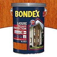 Lasure bois Bondex Teck 5L - 8 ans