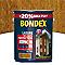 Lasure bois extérieur BONDEX garantie 8 ans châtaignier satin 5L + 20% gratuit