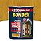 Lasure bois extérieur BONDEX garantie 8 ans chêne clair satin 5L + 20% gratuit