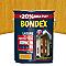 Lasure bois extérieur BONDEX garantie 8 ans chêne doré satin 5L + 20% gratuit