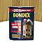 Lasure bois extérieur BONDEX garantie 8 ans chêne naturel satin 5L + 20% gratuit