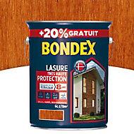 Lasure bois Bondex Teck 8 ans 5L + 20%