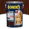 Lasure bois extérieur BONDEX garantie 12 ans chêne moyen satin 5L