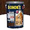 Lasure bois extérieur BONDEX garantie 12 ans chêne rustique satin 5L