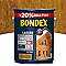 Lasure bois extérieur BONDEX garantie 12 ans châtaignier satin 5L +20% gratuit