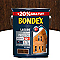 Lasure bois extérieur BONDEX garantie 12 ans chêne rustique satin 5L +20% gratuit