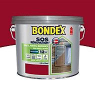 Rénovateur volets bois Bondex Rouge basque 2,5L