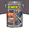 Peinture terrasses BONDEX SOS Rénovation gris anthracite satin 5L