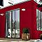 Peinture multi-supports BONDEX SOS Rénovation rouge basque 0,75L