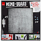 Tableau mémo board effet béton 50 x 50 cm