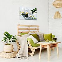 Toile sur châssis Orchidée 45 x 65 cm | Castorama